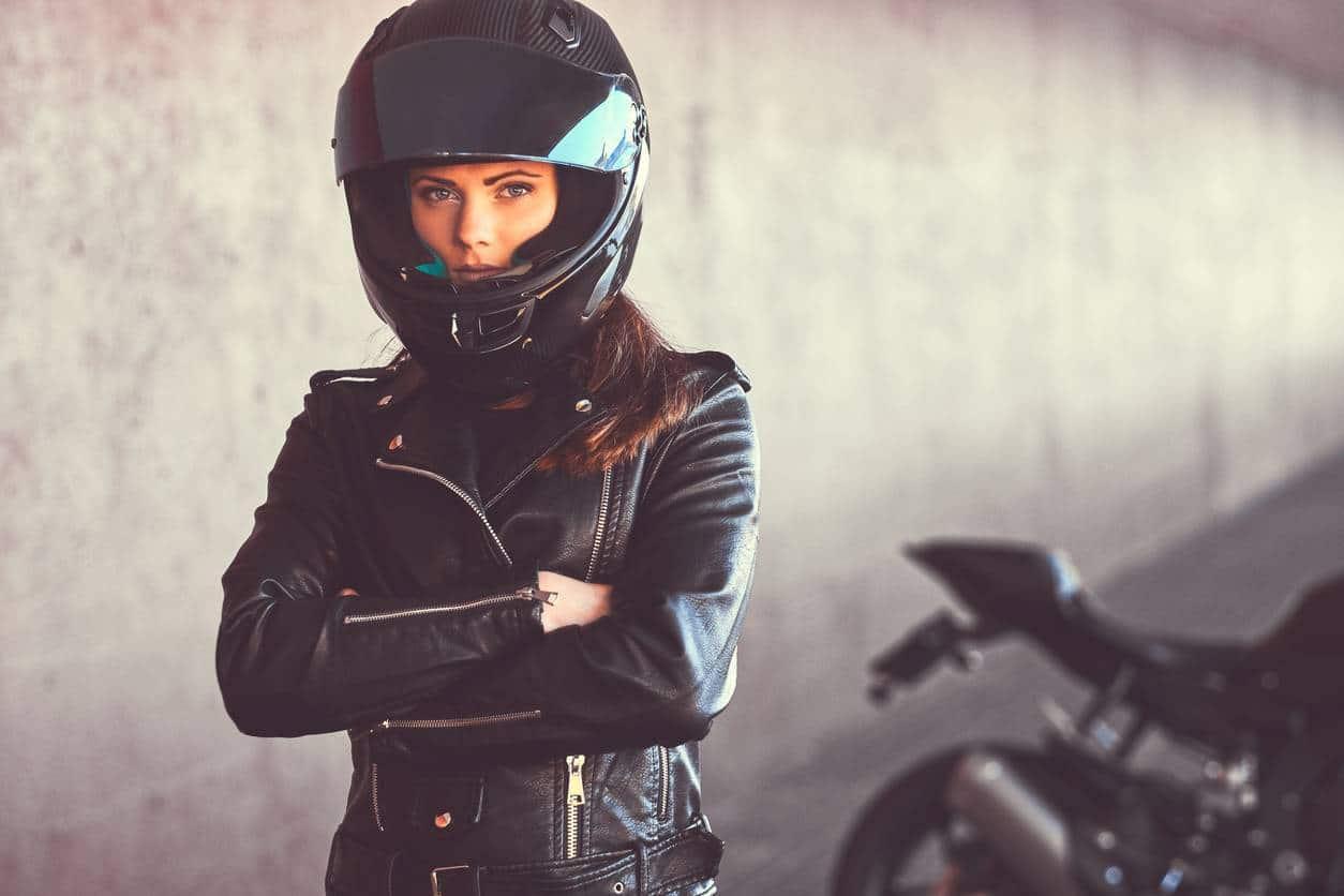équipement blouson motard