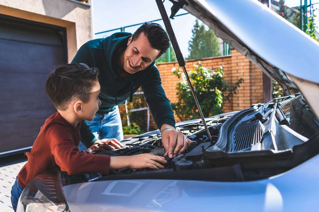 Réparer voiture