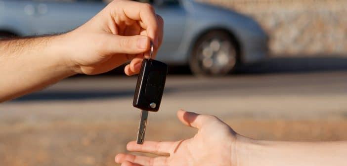 Vente d'une voiture d'occasion entre particuliers